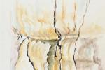 604 - Eucaliptus. Acuarela/papel. 24/46. 2009. Yuste