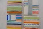 792. Rayas-22. Acrílico. (7,5/7,5). 2011. Abstracción