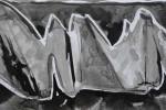 799-01. Tiras x 31. Tinta. (30/12). 2012. Abstracción