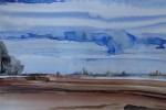 800-08. Tiras x 9. Tinta. (32/22). 2012. Abstracción