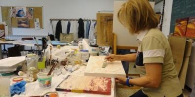 Maite en su taller-03
