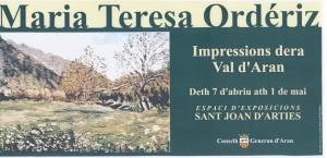 Exposición Val d'Aran. Abril 2001