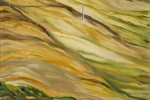 130 - Llanuras. Patagonia. Oleo/tela (81x54) 25M. 2005. Argentina-Chile