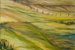 132 - Llanuras. Patagonia. Oleo/tela (81x54) 25M. 2005. Argentina-Chile